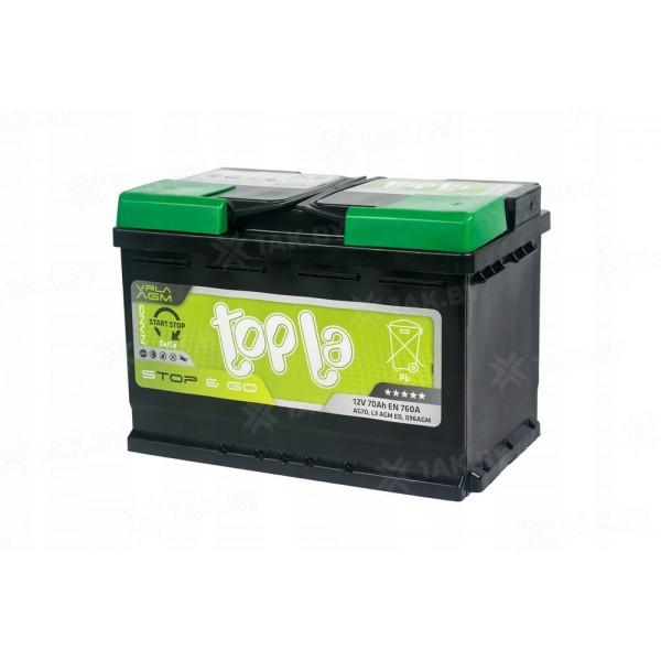 TopLa EcoDry 70 о.п. AGM Stop&Go