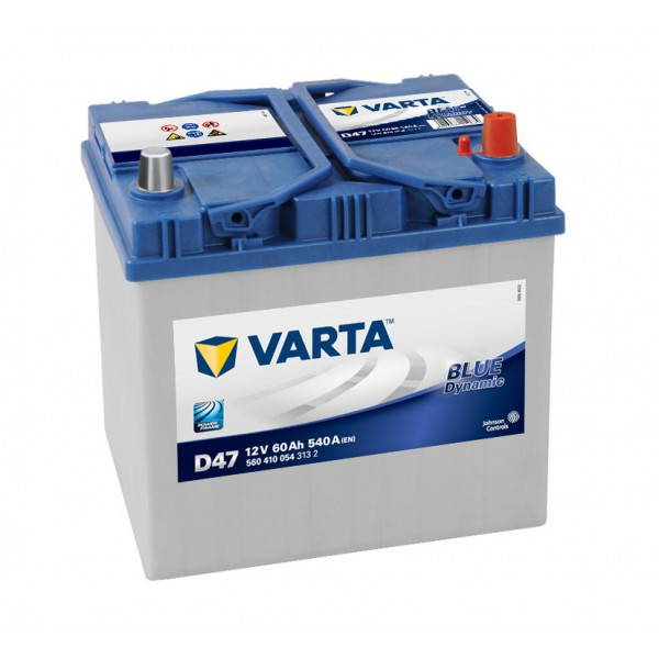 VARTA Blue Dynamic 60 а/ч о.п. (D47) выс.