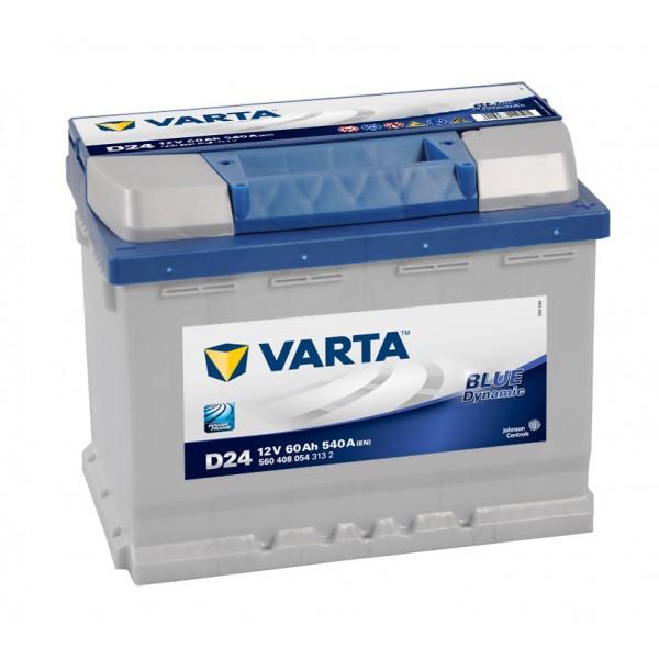 VARTA Blue Dynamic 60а/ч (D24) о.п.